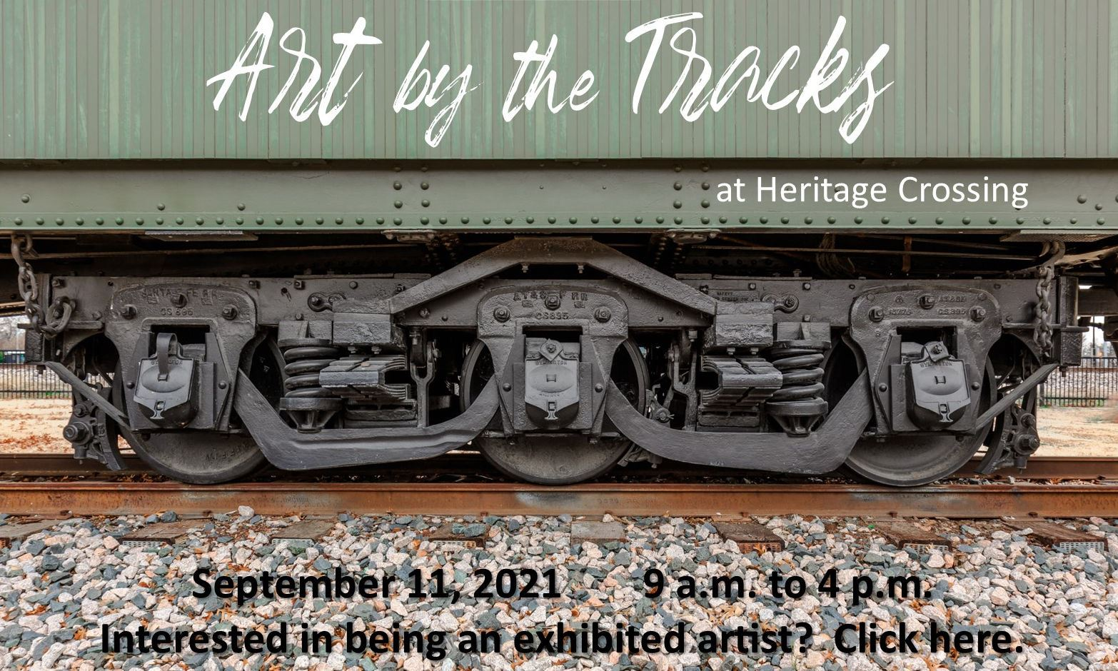 Art by the Tracks temp logo